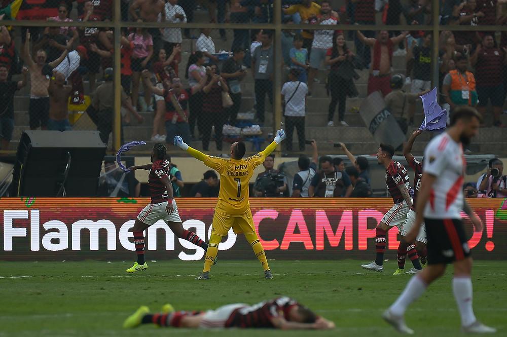 Flamengo se consagra campeão da Libertadores. (Foto: @AlexandreVidal1)
