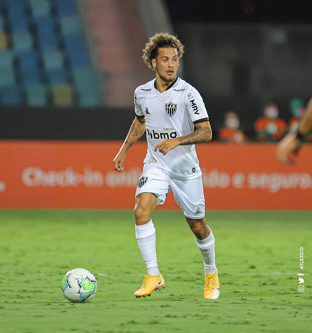 Guga jogando pelo Atlético-MG. (Atletico)