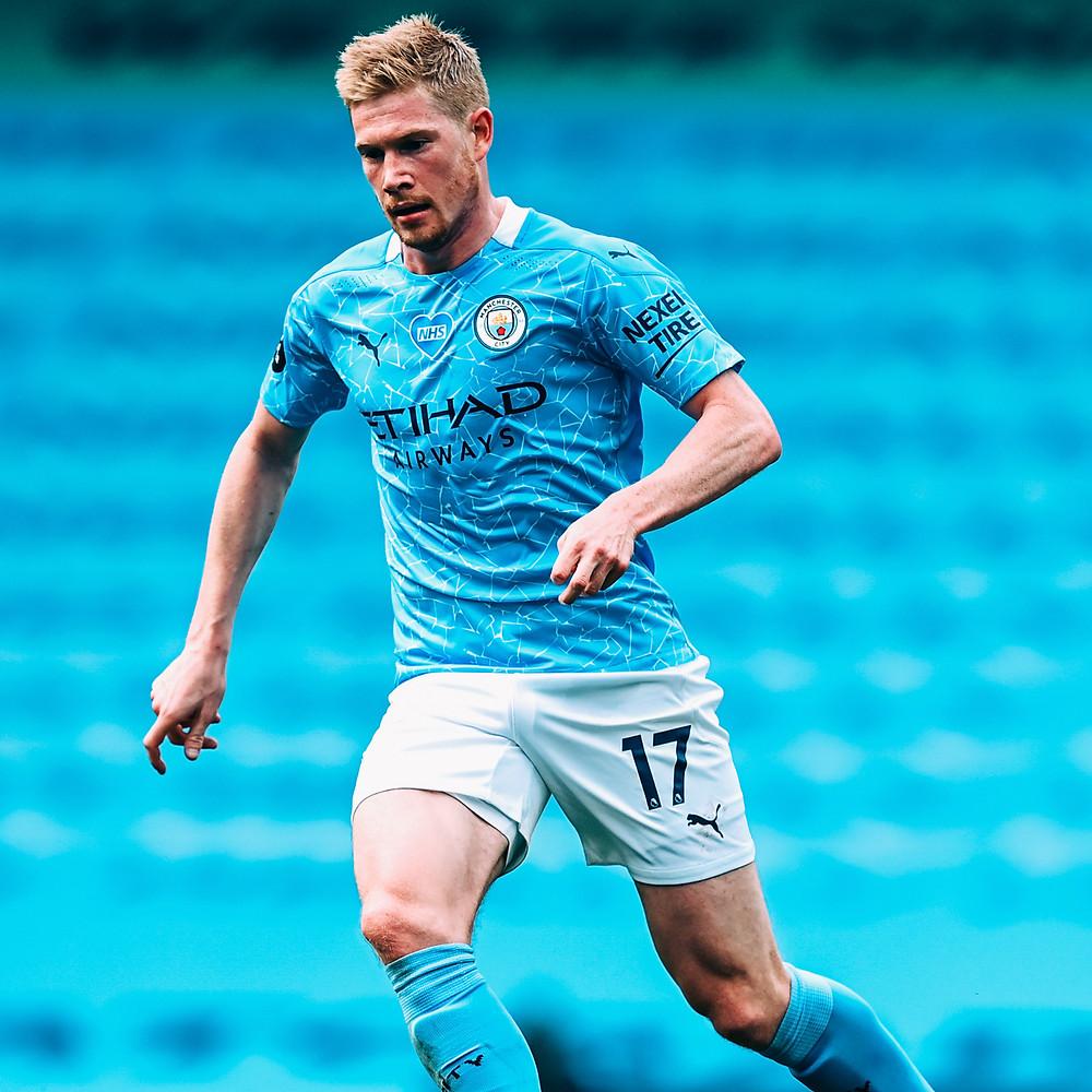 O craque Kevin De Bruyne. (Foto: Manchester City)