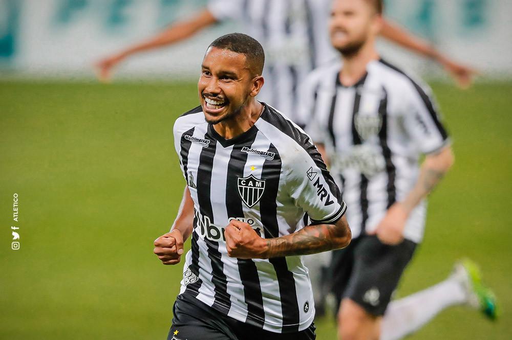 Jair celebra seu gol. (Foto: Atletico)