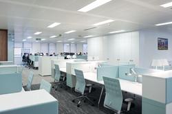 Open Plan Desk Layout