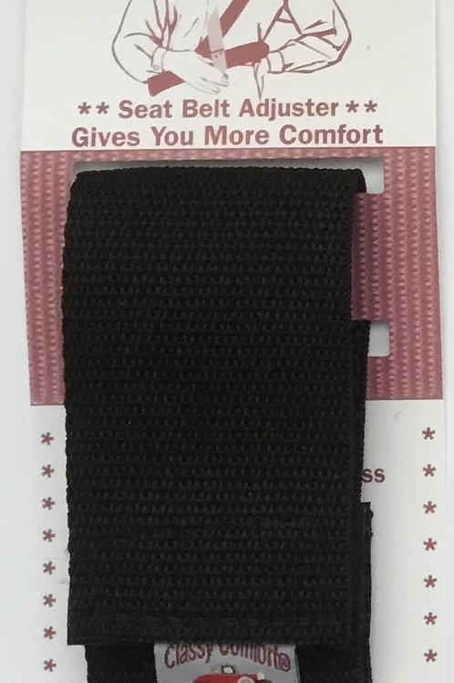 Classy Comfort® Seatbelt Adjuster/Black