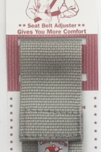 Classy Comfort Seatbelt Adjuster/Gray