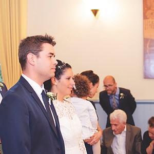 Mariage civil Mathieu et Agnès