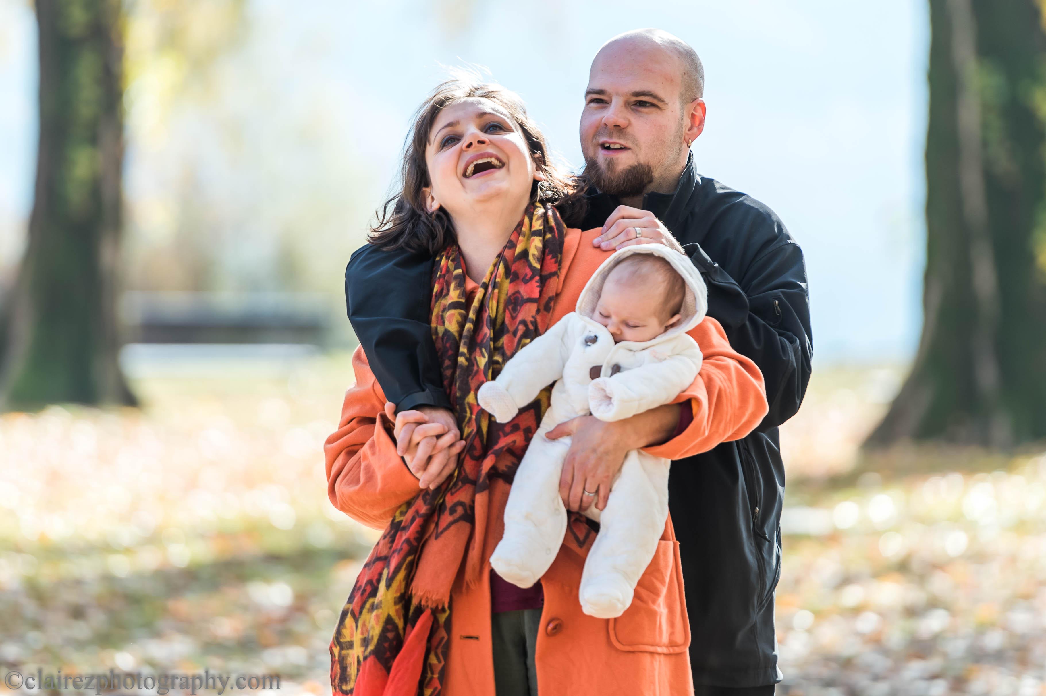 Caterina, Alain e Flavia
