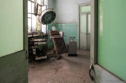 La sala del Dr. Cerletti