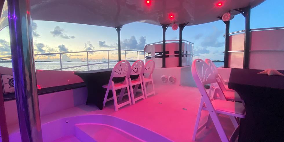Sunset Dinner Cruise Thursday 7th October 6:00pm-9:00pm