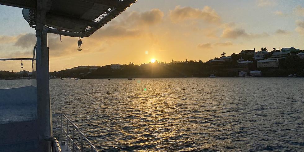 Sunday Sunset VIBE  Sunday 22nd of August 2021