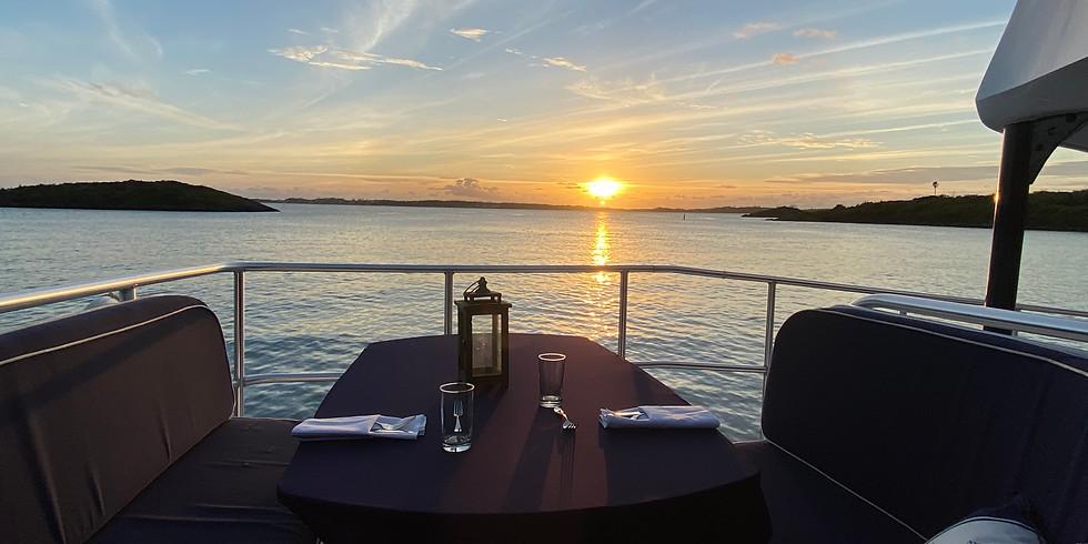Sunset Dinner Cruise Thursday 9th September 6:00pm-9:00pm