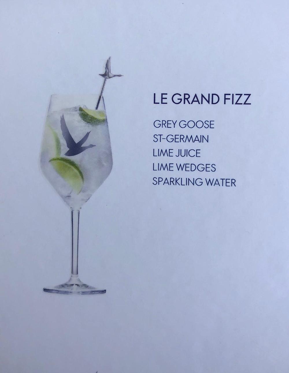 ÜberVida Mini Cruise Grey Goose LE GRAND FIZZ