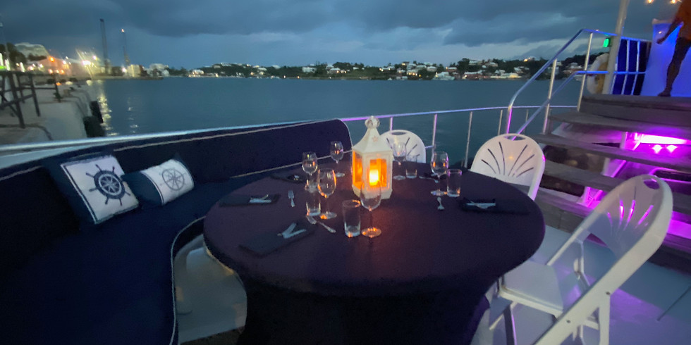 Sunset Dinner Cruise Saturday 7th August 6:00pm-9:00pm