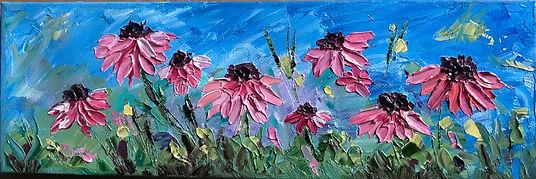 Pink daisies 4x12.jpg