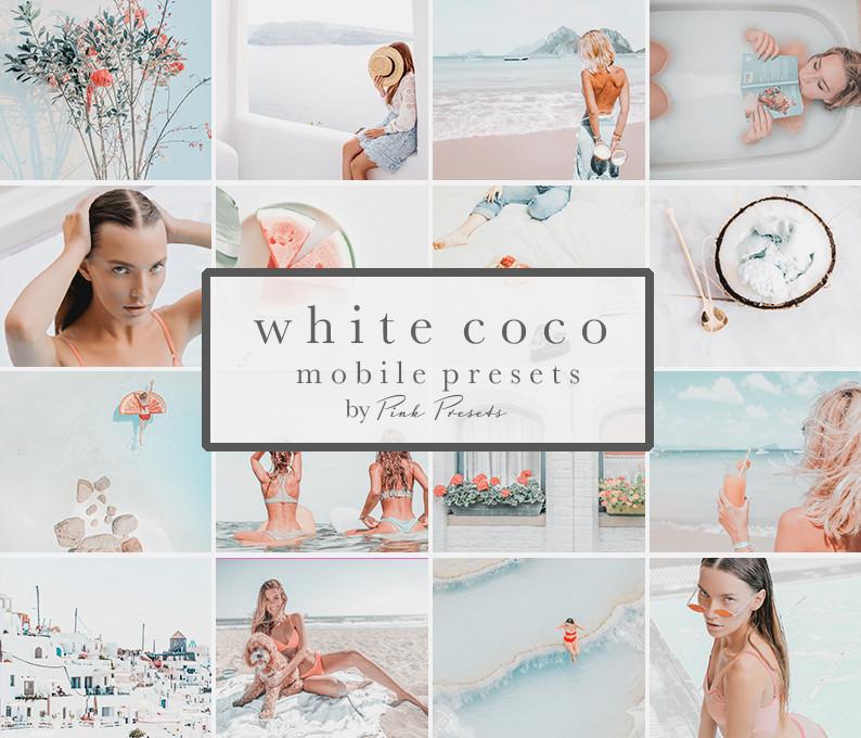 White Coco Presets Lightroom Mobile