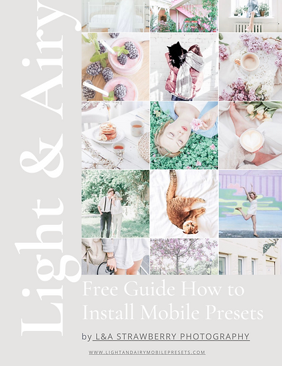 LIGHT AND AIRY MOBILE PRESETS -FREE -GUI