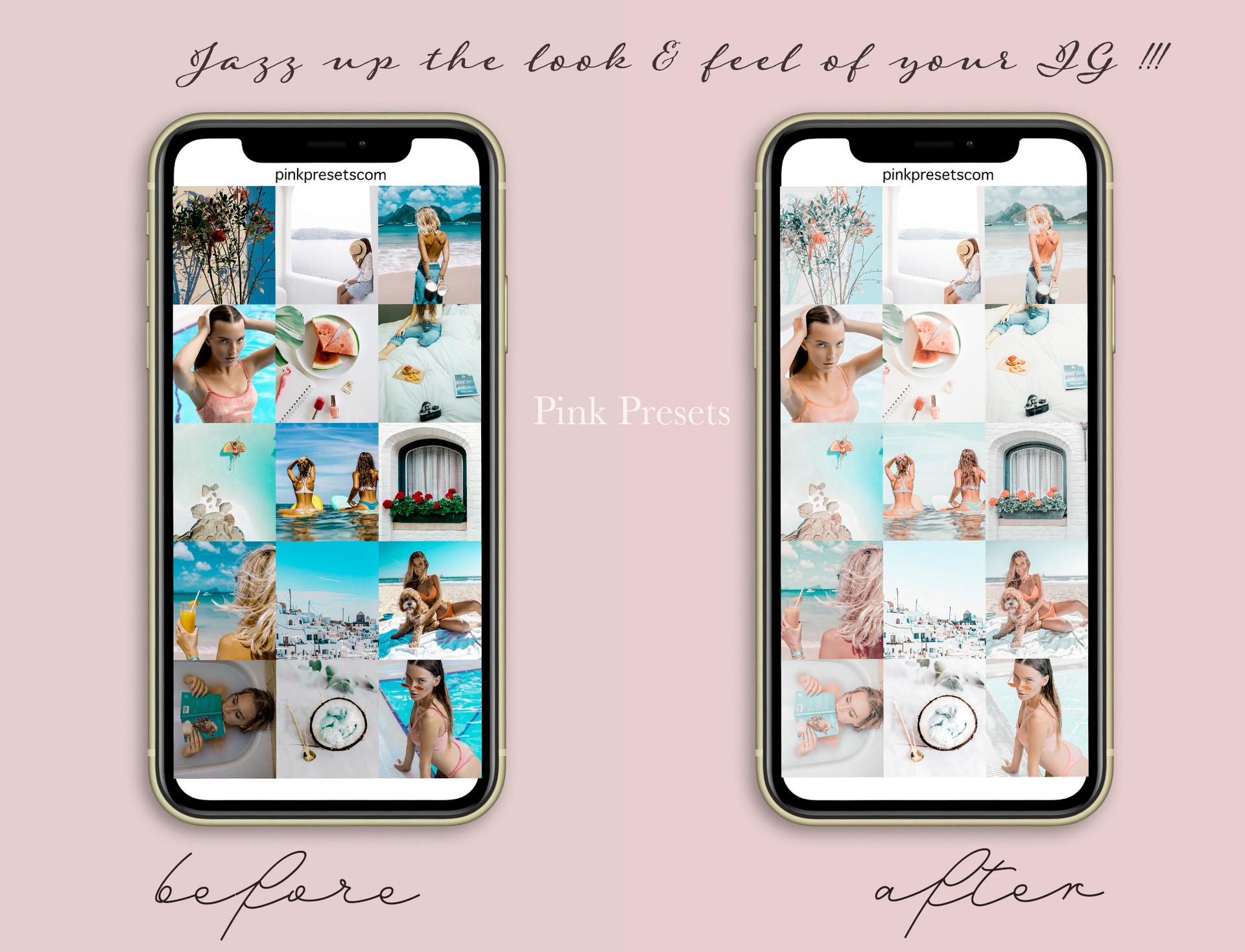 White Coco Lightroom Presets Mobile