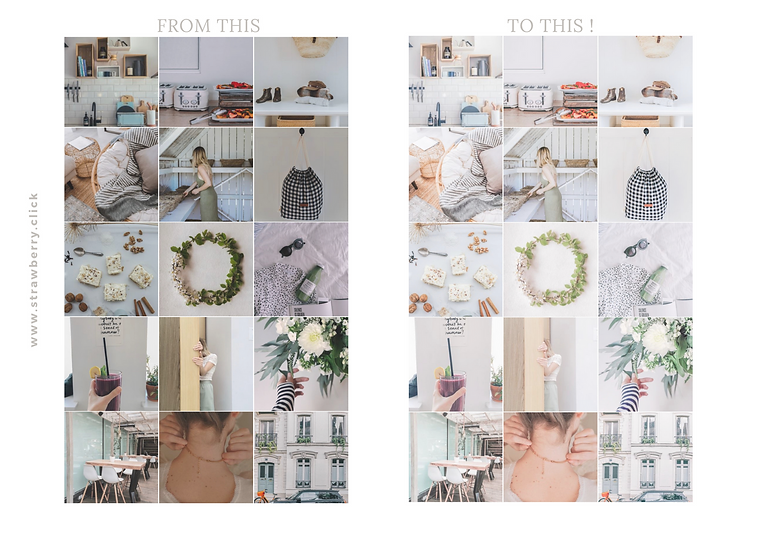 LIGHT & AIRY MOBILE PRESETS-BLOGGERS-STR