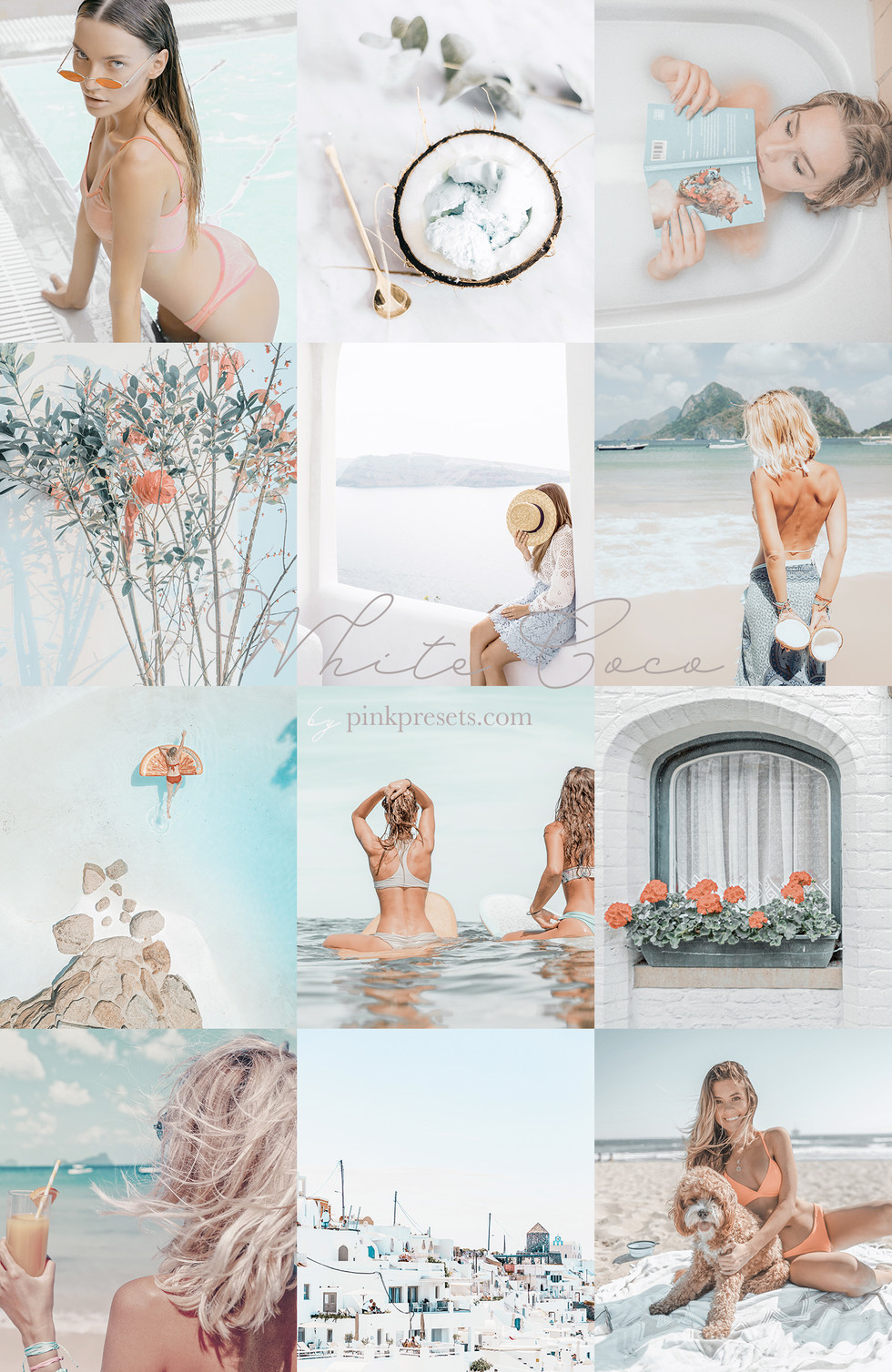 White Coco Lightroom Presets for Mobile