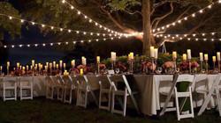 wedding event lighting by GGA Texas