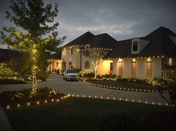residential holiday lighting by gga
