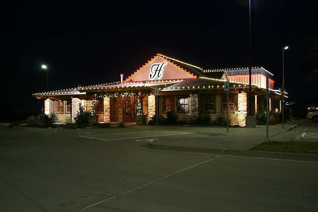 Corporate Business Holiday Lighting by G