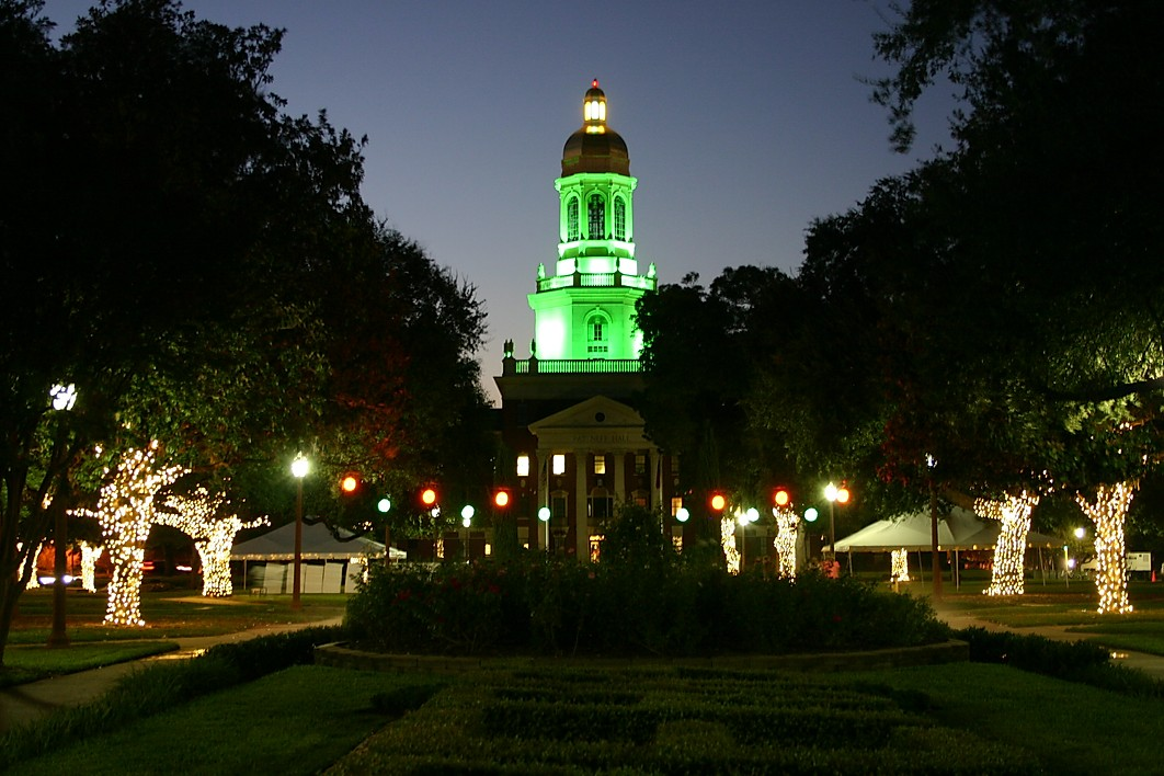 Baylor University Lights GGA Waco Texas