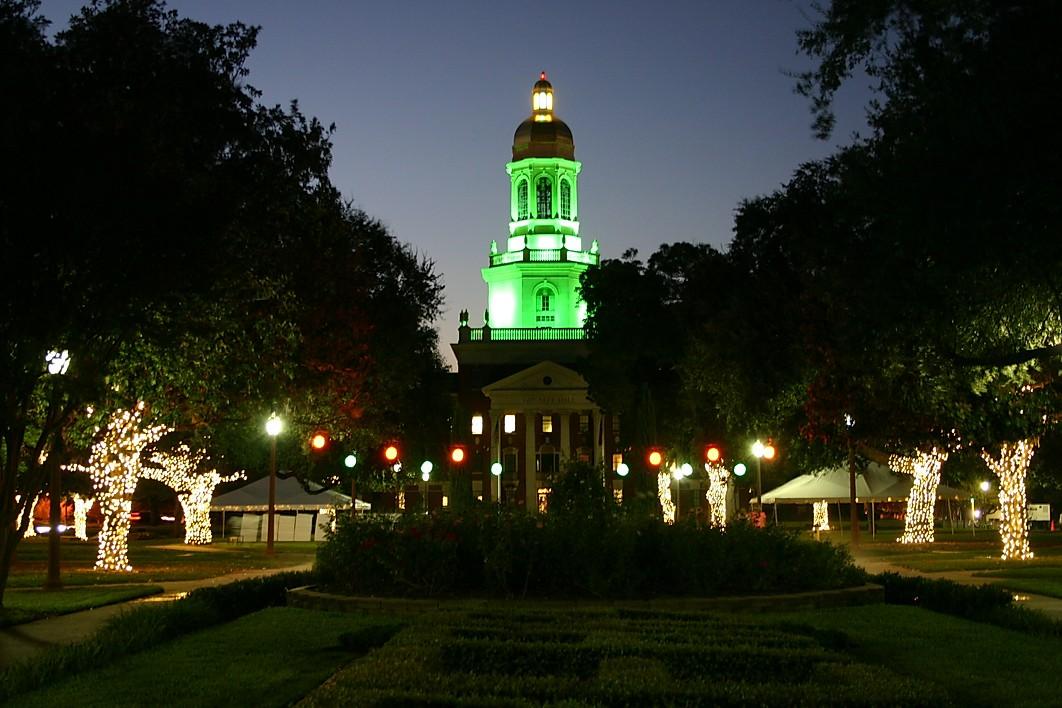 Baylor University Lights GGA Waco Texas
