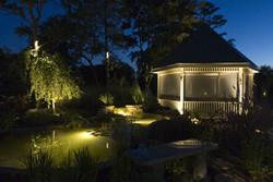backyard landscape lighting outdoor ligh