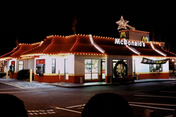mcdonalds christmas lighting by gga texa