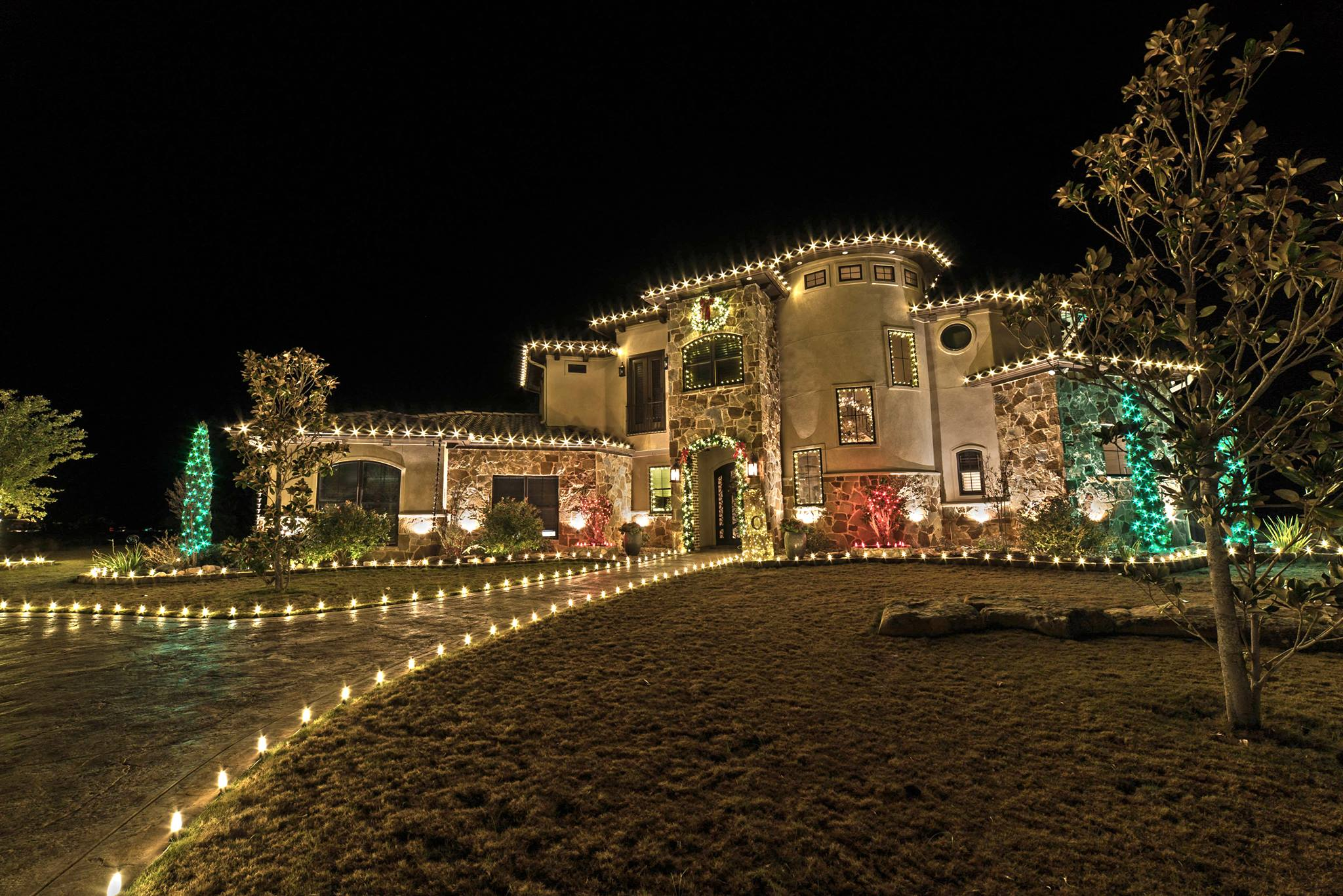 christmas lights by gga