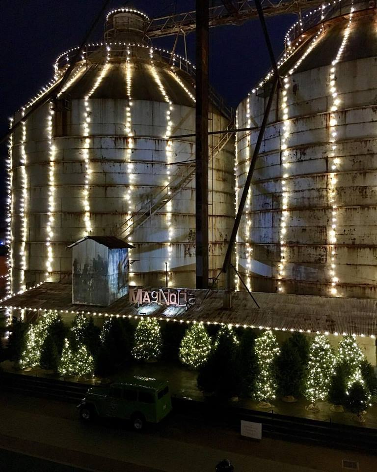 Magnolia Silos Waco Texas Lighting by GG