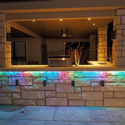 colorful rgbw lighting