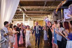 indoor wedding reception lighting