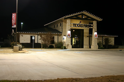 Texas First Commericial Lighting by GGA.