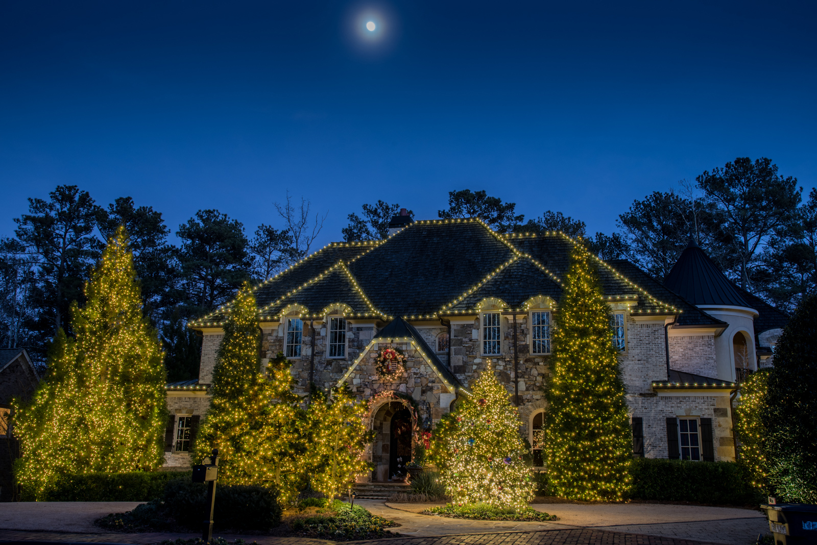 residential christmas lighting waco texa