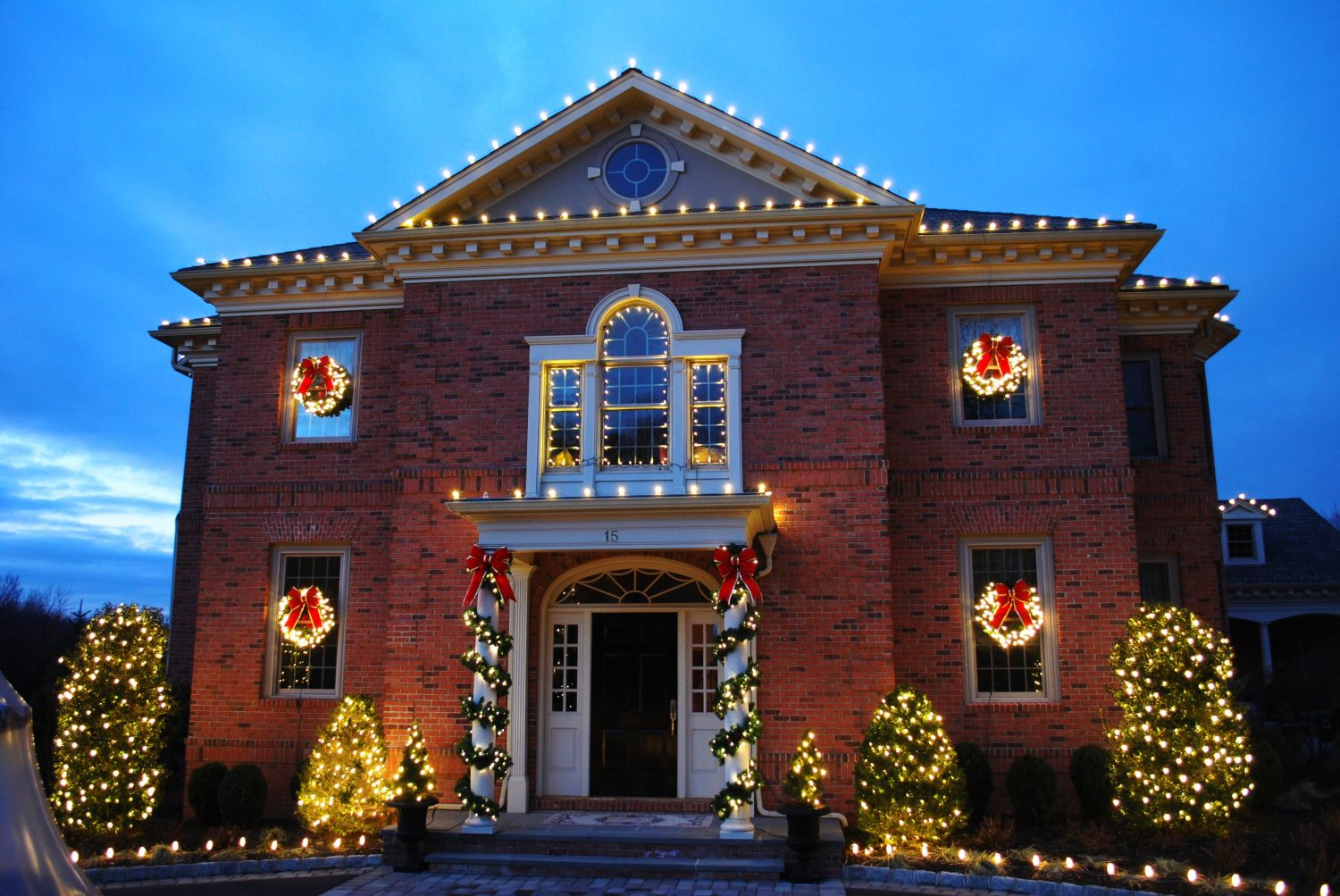 texas christmas lighting residential