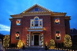 texas christmas lighting residential