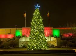 christmas tree lighting by GGA texas
