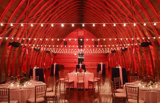 red event lighting