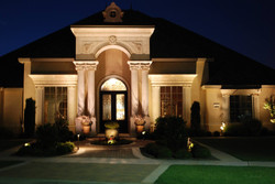 professional landscape lighting in texas