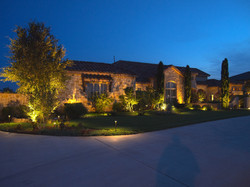 landscape outdoor lighting in texas ligh