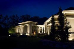 uplighting landscape lighting by gga
