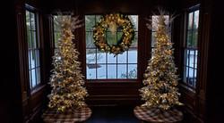 indoor decor holiday display