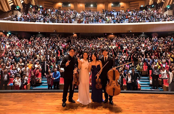 New Asia Chamber music society in Taichu