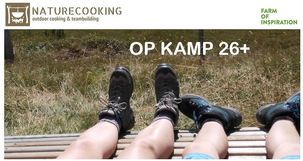 NatureCooking Op kamp 26+