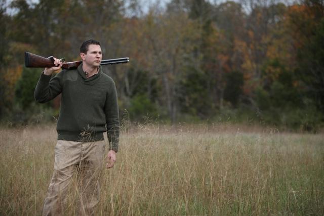 Tall-grass-and-over-under-shotgun