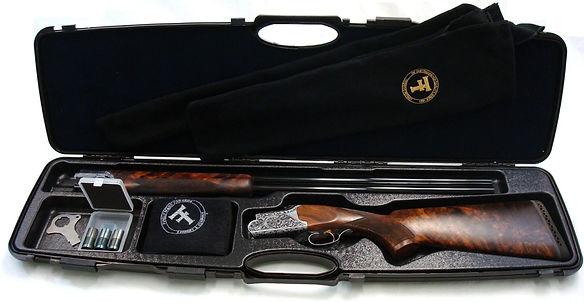 0708S Over Under Shotgun in Gun Case