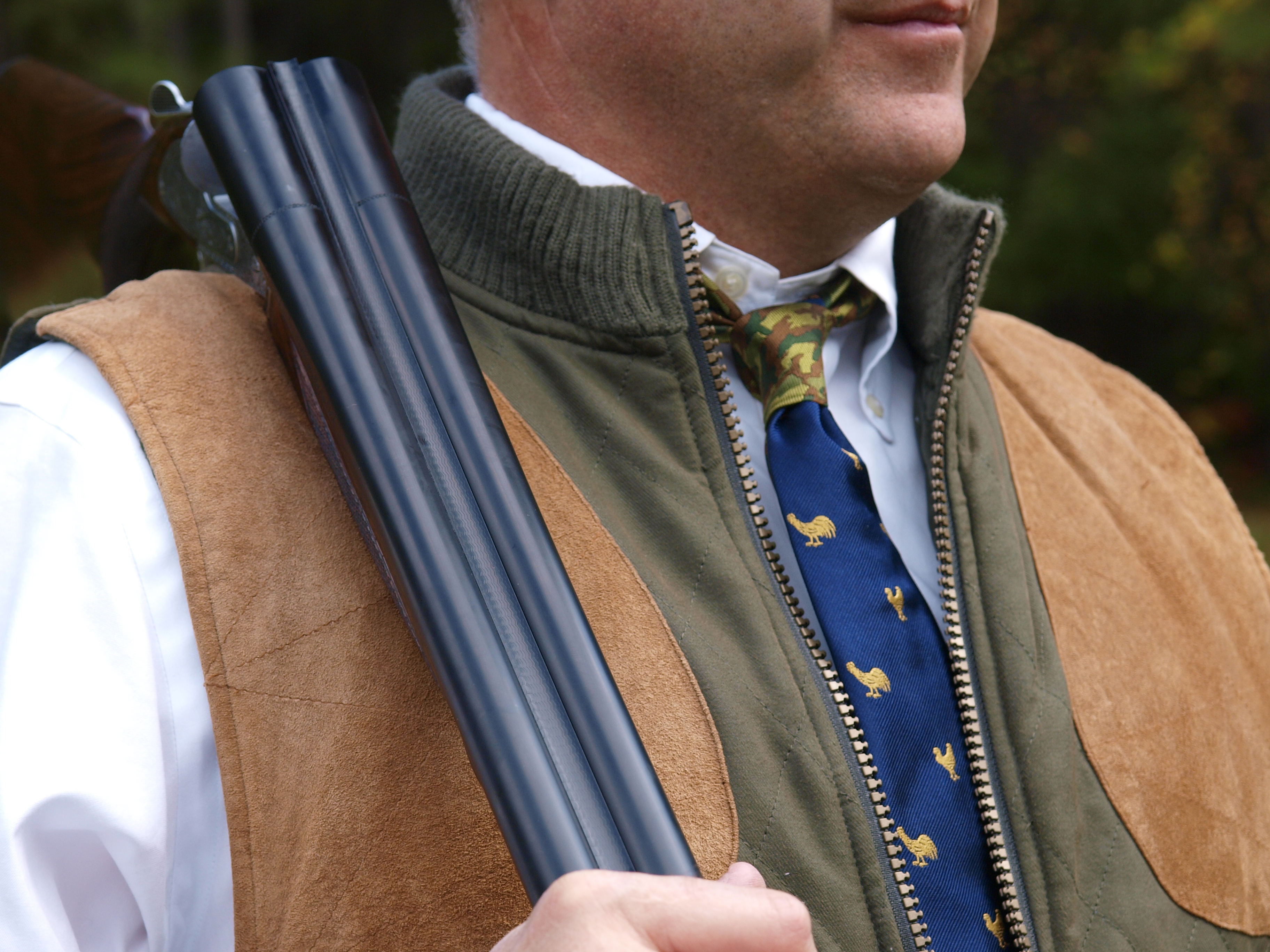 Side-by-side-shotgun-and-pheasant