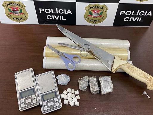 Dise de Tupã prende indiciado por vender droga em ponto próximo de creche