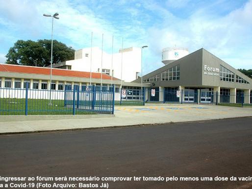 Ingresso em prédios do TJSP exigirá comprovante de vacinação contra covid-19