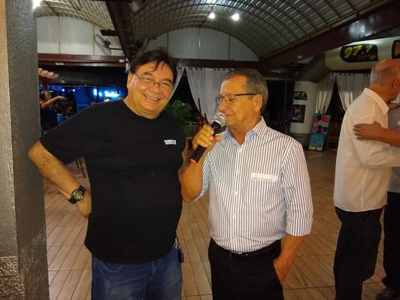 Osvaldo Maciel e Juan Fonseca